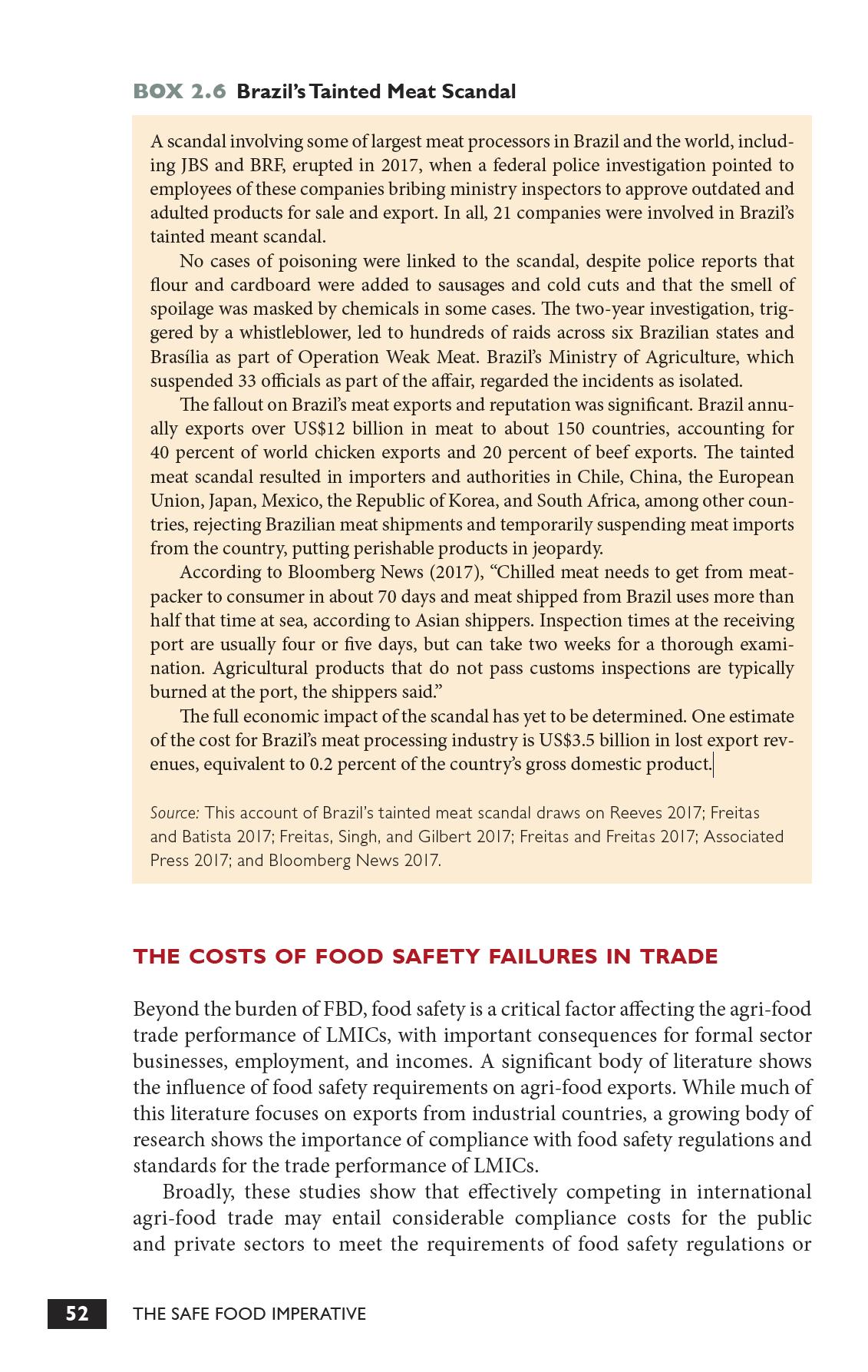 AFISA-PR - Segurança alimentar: alimentos inseguros custam US$ 110